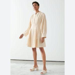 NWT & OTHER STORIES Organic Cotton Midi Dress – 6